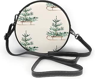 Handbags For Women, Travels Cream PU Leather Shoulder Bags,Tote Satchel Messenger Bags