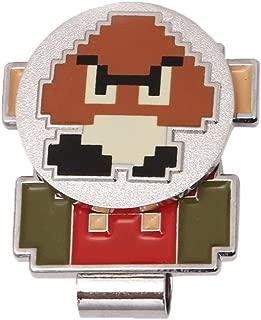 Nintendo Super Mario Bros, Golf Ball Marker with Hat Clip (Mario & Goomba)