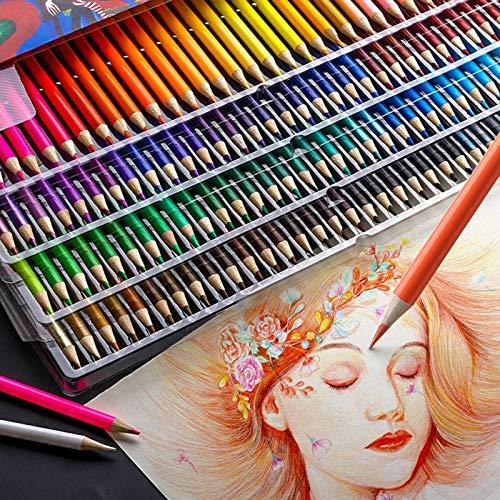 Juego de 120 lápices de colores al óleo profesional para artistas que pintan papelería para bocetos escolares de madera Paint BrushAccessoriesDrawing Supplies