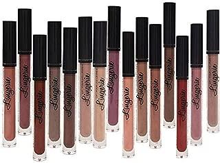 Matte Liquid Lipstick Pen, Spdoo 15 Nude Colors Long Lasting Lip Gloss Set