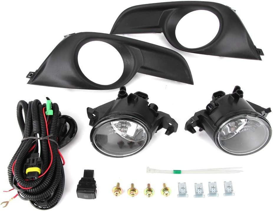 5%OFF Fog 超安い Light Kit High Brightness Fits of Lamp Wiring Pair