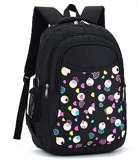 XHHWZB Primary School Bag - Shoulder Bag Children's Bag Waterproof Backpack for Men and Women