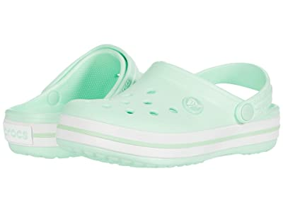 Crocs Kids Crocband Clog (Toddler/Little Kid) (Neo Mint) Kids Shoes