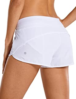 Women's Quick-Dry Workout Sports Active Running Shorts - 2.5 Inches