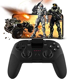 Android Game Controller, Joso Wireless Bluetooth Mobile Gaming Mapping Joystick for COD PUBG Fornite & More FPS Shooting F...