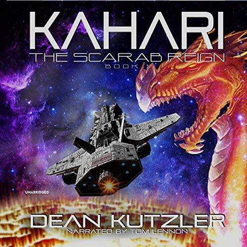 Kahari audiobook cover art