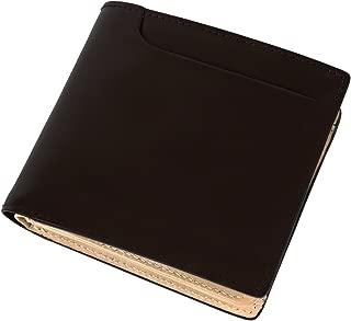 [ラファエロ] 一流の革職人が作る ロイヤルオイルドレザーを使用した 二つ折り財布