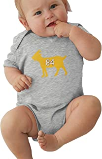 Unisex Baby Onesie Bodysuit Minnesota Moss Goat Short-Sleeve Bodysuit for Boys and Girls