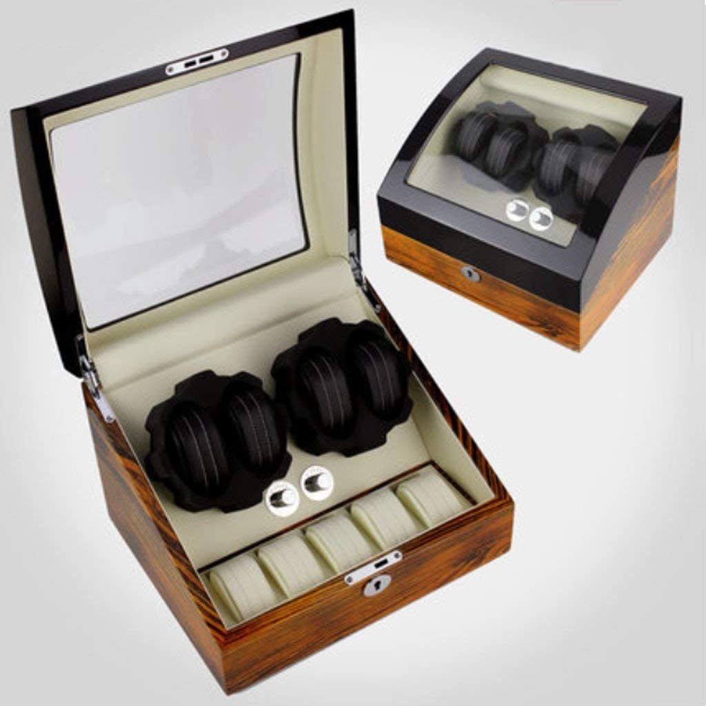 FHISD Watch Winder for Recommended Watches Box Rotary Popularity Pi