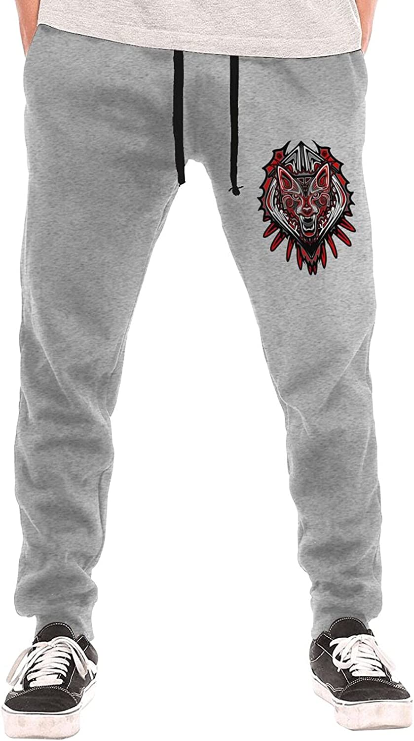 Attention brand Sale Indians Wolf Sweatpants Training for Men's