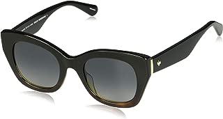 Women's Jalena/s Cateye Sunglasses, Black Havana, 49 mm