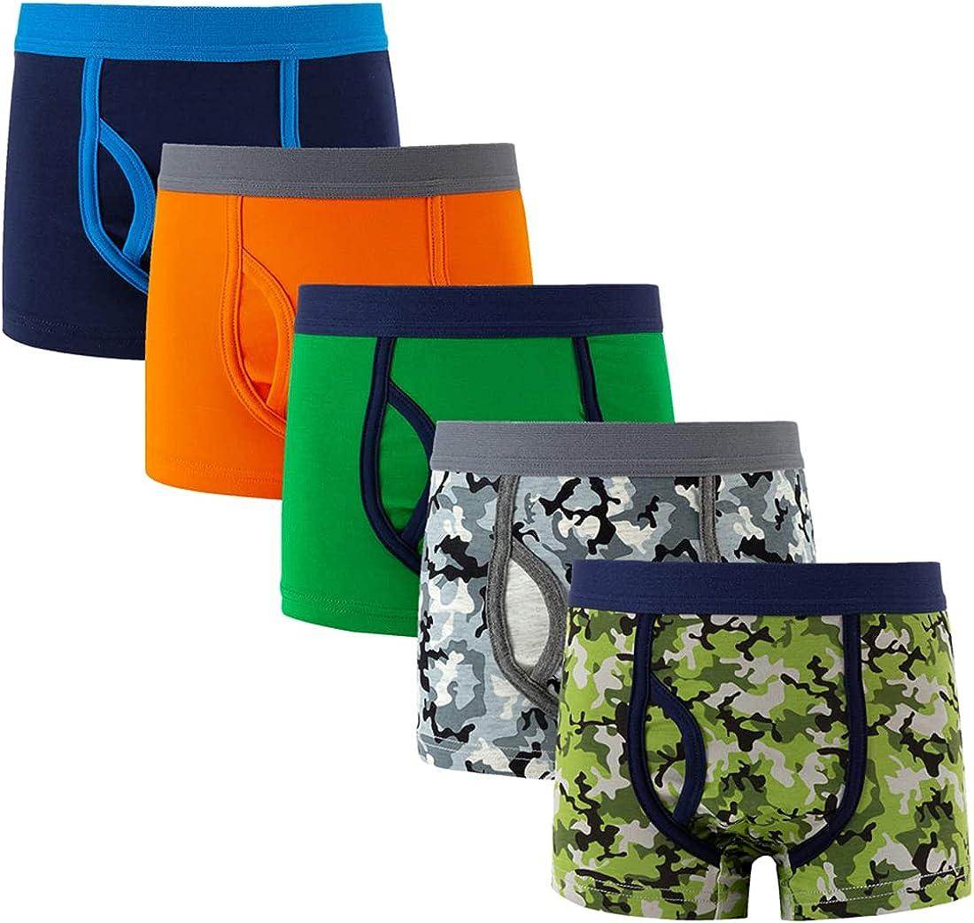 5 Pack 2-3 Years Soft Cotton Baby Toddler Underwear Little Boys' Assorted Boxer Briefs