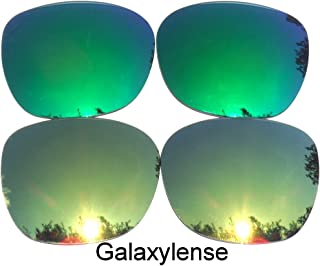 321ef8c97b Galaxy Replacement Lenses for Oakley Garage Rock Gold Green Color Polarized  2 Pairs