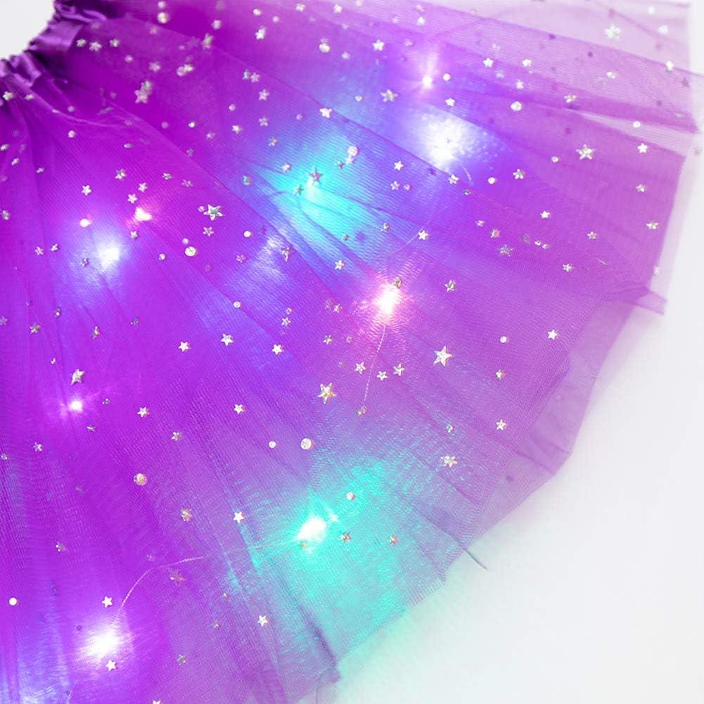 jupe de princesse /à paillettes pour filles de 2 /à 8 ans jupes de ballet mignonnes pour fille costume de danse de ballet SALATEILY Jupe tutu pour filles princesse fantaisie