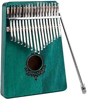 طقم البيانو الخشبي للبيانو والإبهام والكبار (أخضر)