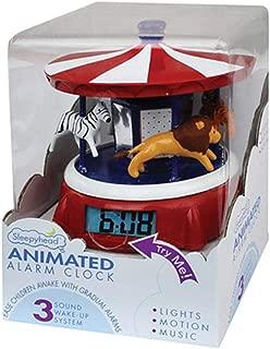 Sleepyhead Animated Alarm Clock - Carousel Medley