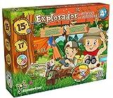 Science4you-Kit Explorador 4 Kit Ciencia con +15 Eco Actividades: CREA un Hormiguero, Utiliza la Linterna Infantil, Lupa y Prismaticos, Juegos Educativos para Niños 4-8 Años (80002977)