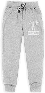 Dxqfb Funny Best Dad Boys Sweatpants,Sweatpants For Boys