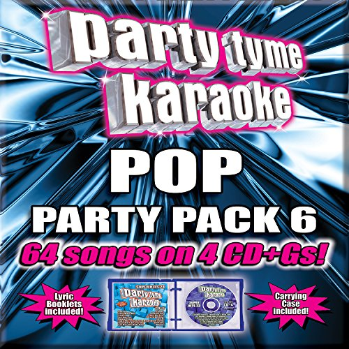 Party Tyme Karaoke - Pop Party Pack 6