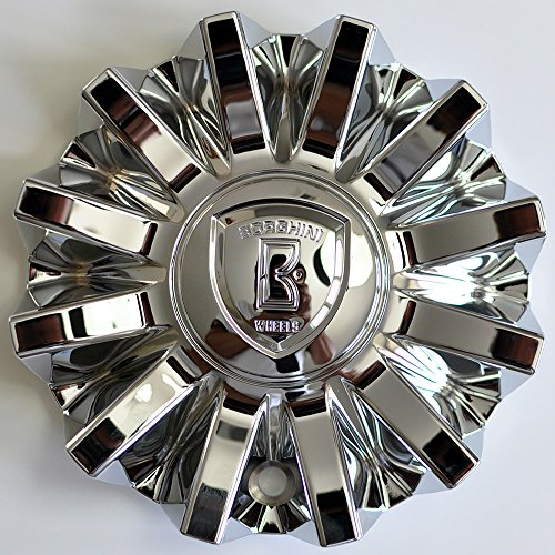 Borghini Wheels Chrome Wheel Rim Center Cap CS420-E6P