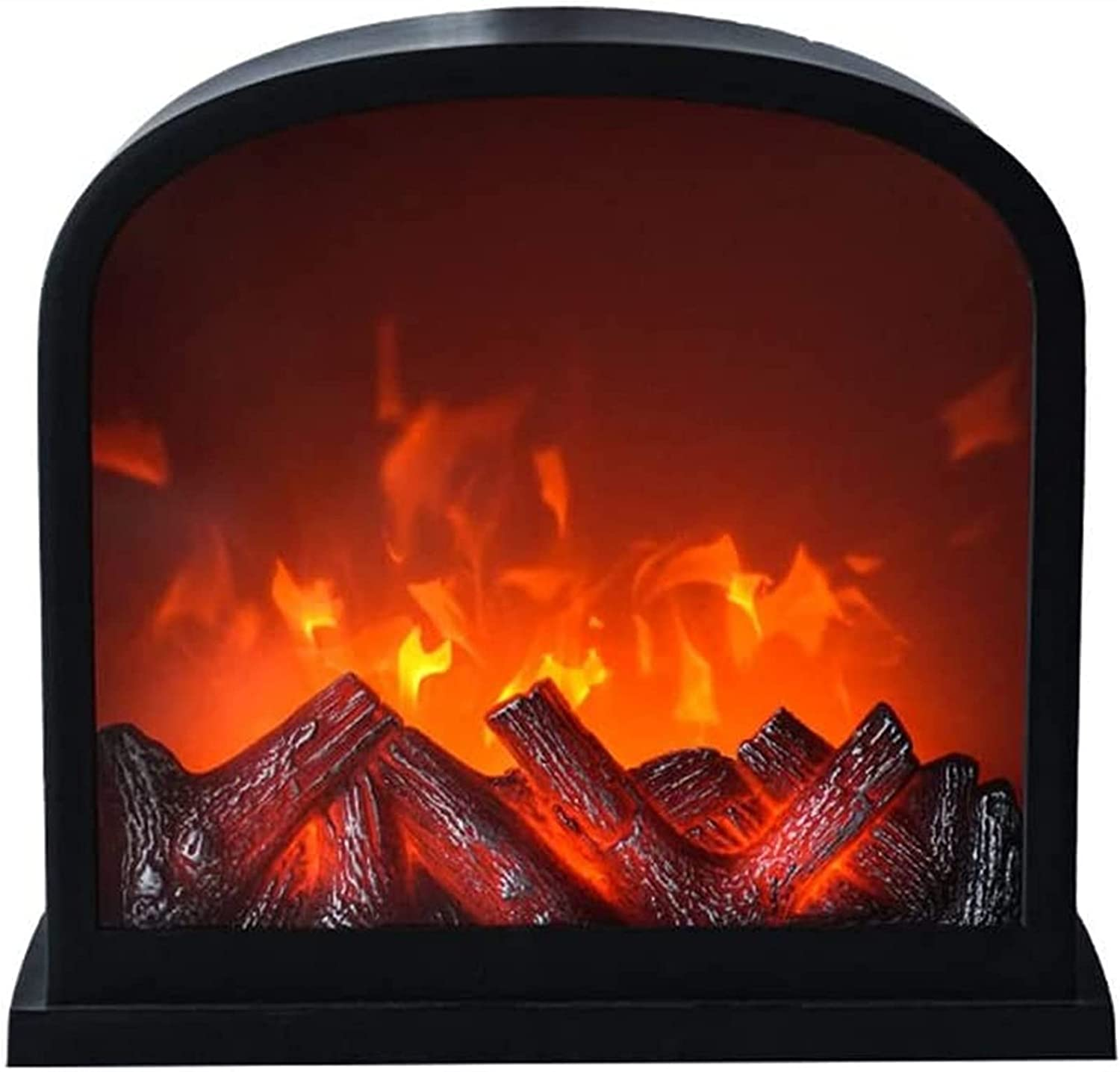 Long-awaited Yisss LED Fake Fire Flame Wall Fireplace Light New sales with Lights