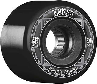 BONES WHEELS (ボーンズ ウィール) ATF ROUGH RIDER SKATEBOARD WHEELS RUNNERS 56MM 80A 4PK BLACK スケボー スケートボード ウィール ソフトウィール [正規輸入品]