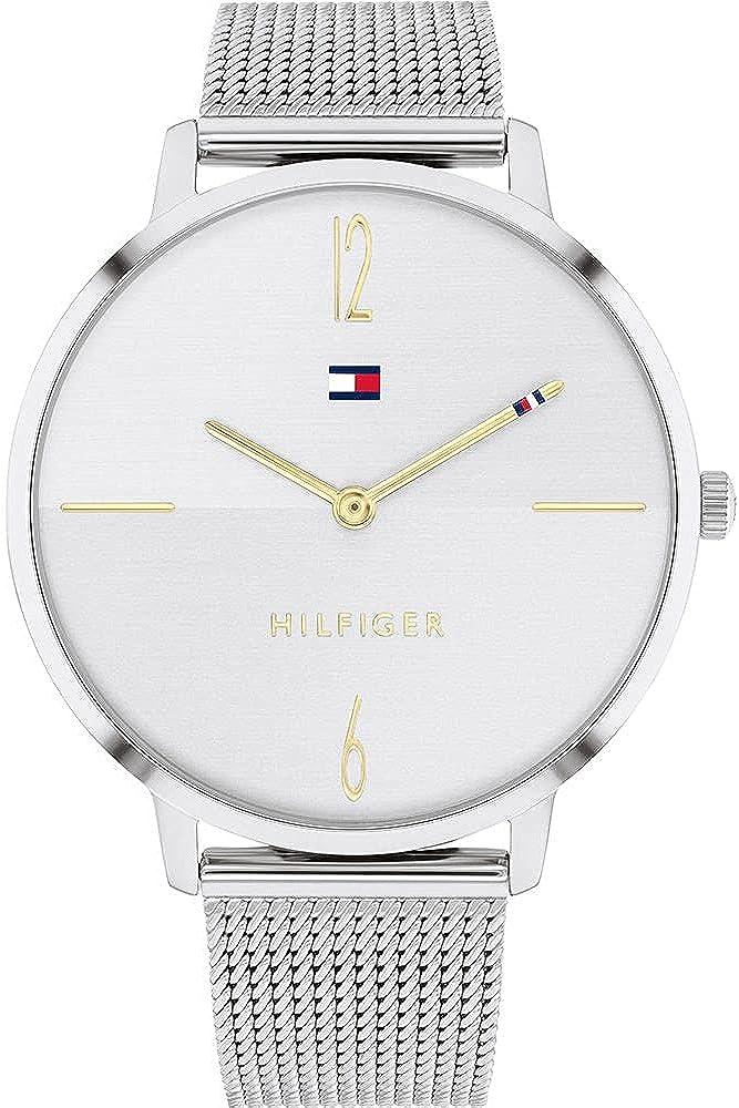 Tommy Hilfiger Reloj Cosa análoga para De Las Mujeres de Cuarzo con Correa en Acero Inoxidable 1782338