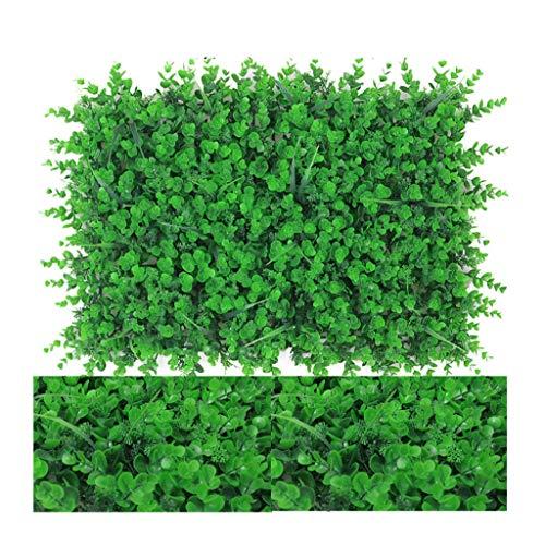 Djqw Künstliche Hecke Spalier Zaun Bildschirm gefälschte UV-Schutz Sichtschutz am Zaun oder Balkon (Color : C)