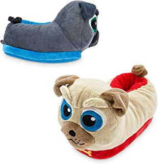 Bingo and Rolly Slippers for Kids - Puppy Dog Pals