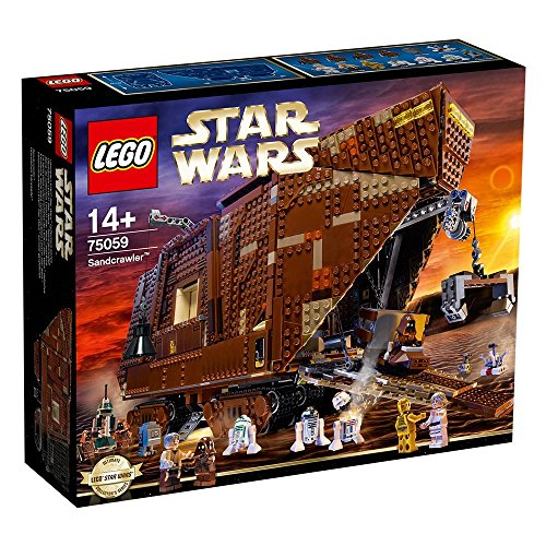 LEGO Star Wars Sandcrawler Niño/niña 3296pieza(s) Juego de construcción - Juegos de construcción (Marrón, 14 año(s), 3296 Pieza(s), Película, Niño/niña, Star Wars)