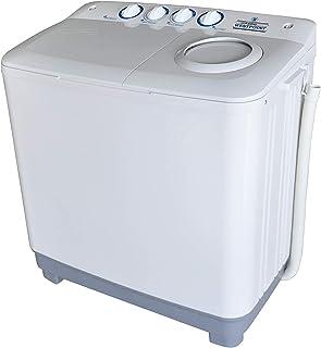 WestpointTwin Tub Washing Machachine, Plastic, White, White, 15Kg, Wtw-1415