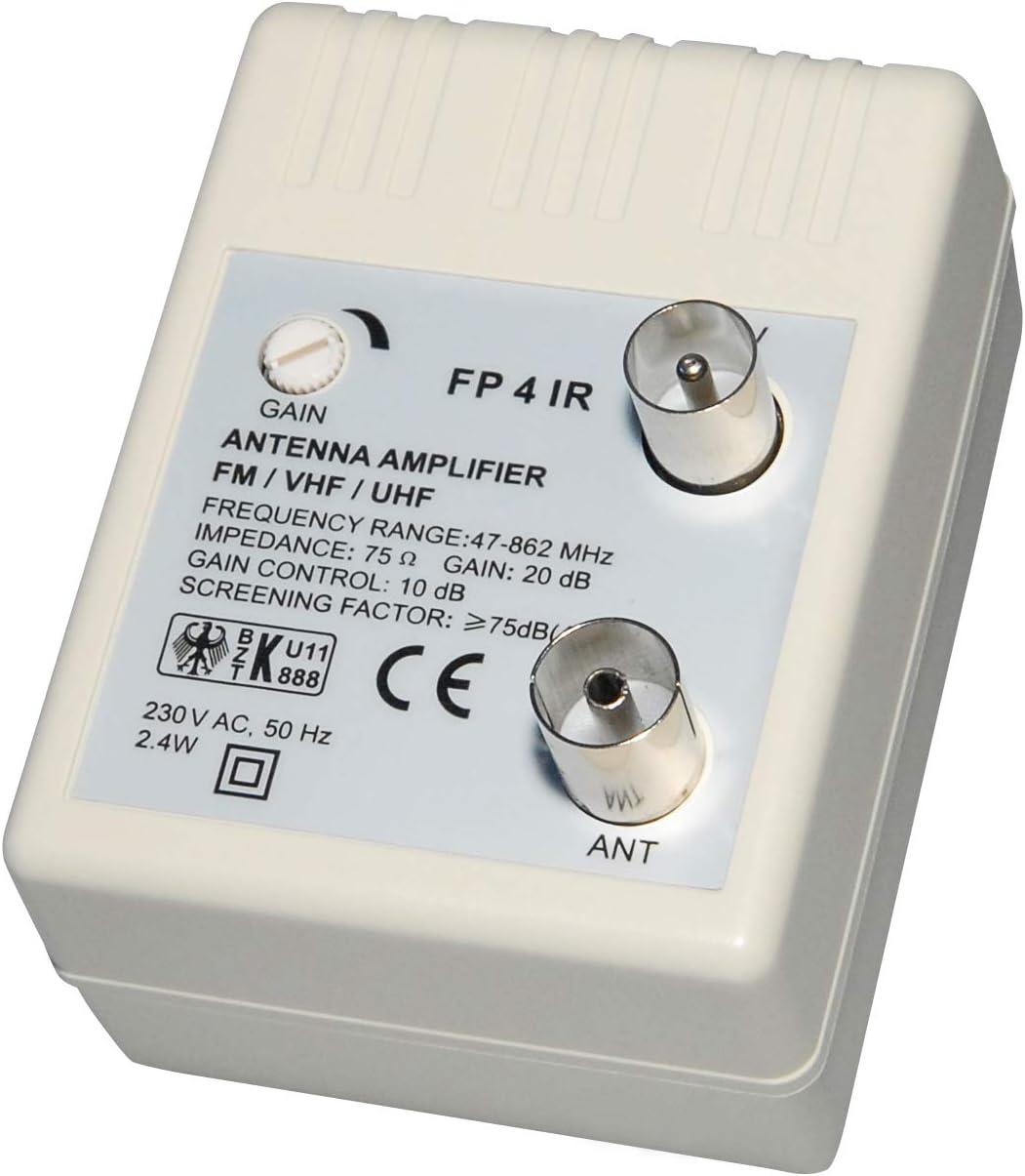 Transmedia FP4iRL - Amplificador para antena (47-862 MHz ...