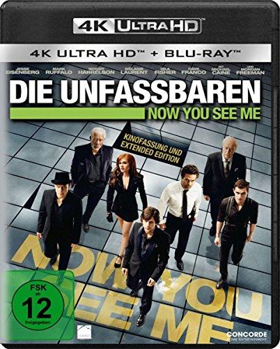 Die Unfassbaren - Now you see me  (4K Ultra HD) (+ Blu-ray)