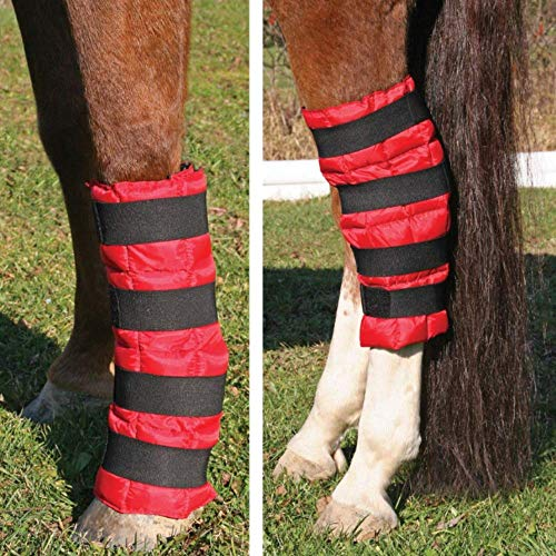 Dura-Tech Cooling Gel Horse Leg Wrap | Equine Ice Boot | 16