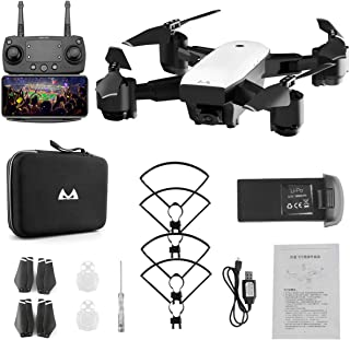 Foldabe 6 Axles Gyro Mini WiFi Drone with Wide Angle 1080P HD Camera SMRC S20 2.4G Altitude Hold RC Quadcopter