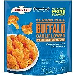 Birds Eye Steamfresh Vegetables, Flavor Full Buffalo Cauliflower, 9.5 Ounce (frozen)