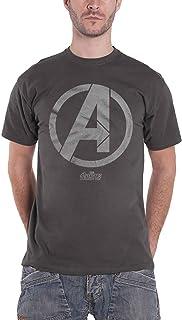 Avengers Infinity War T Shirt Avenger Icon 新しい 公式 Marvel メンズ Charcoal