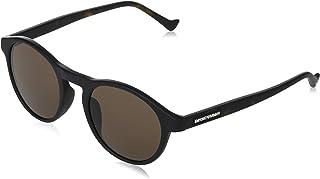 Emporio Armani - Gafas de sol Emporio Armani EA 4138 F Ajuste Asiático 501773 Negro Mate
