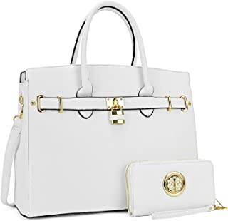 Dasein Women's Purses and Handbags Designer Tote Shoulder Bag Top Handle Satchel Hobo Bag Briefcase