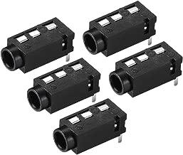 uxcell 3.5 mm Audio Jack Connector PCB Mount Female Socket 4 Pin PJ-320A 5pcs