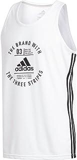 adidas Men's Badge of Sport Emblem Tank Top