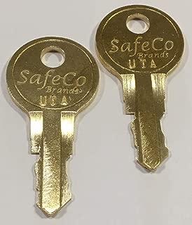 2-Keys Elevator Keys for Elevator Operations SafeCo Brands (UTA Otis)