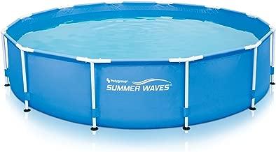 summer waves 12ft metal frame pool