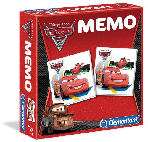 Clementoni 12838 Cars 2 - Juego Educativo de Memoria
