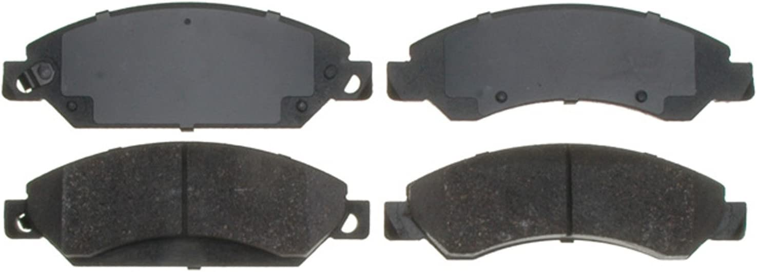 ACDelco Silver 14D1092CH Fort Worth Mall Ceramic half Front Disc Brake H with Set Pad