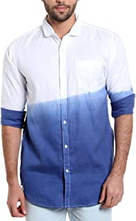 Campus Sutra Men's Plain Regular Fit T-Shirt