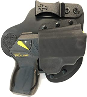 CrossBreed Appendix Carry Holster for The TASER Pulse and Pulse +, Right Hand