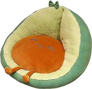 LJWLZFVT Cojín Tapizado de Asiento Tatami futon cushionCojín de SillaInicio Sala de Estar sofá Silla Piso Sentado en el Suelo Perezoso Sentado -Aguacate 45x45x35cm