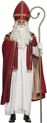 Boland 56840 Erwachsenenkostüm Sankt Nikolaus Gr. L XL, Mehrfarbig