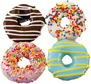 Huds and Toke Little Doggy Donuts 4pk, Assorted
